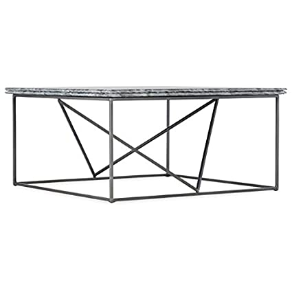 Hooker Furniture Besties 36u0026quot; Square Stone Top Coffee Table ...