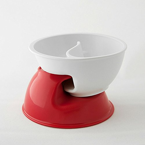 Obol the original never soggy cereal bowl with the spiral obol the original never soggy cereal bowl with the spiral slide design n grip med wht amazon home kitchen ccuart Gallery