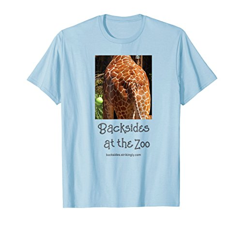 Giraffe Backside, A Backsides at the Zoo Series T-Shirt (Promotional Classic Series)