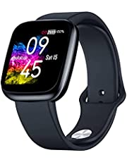 Zeblaze Crystal 3 SmartWatch For Sport And Health Monitoring, IP67 Black