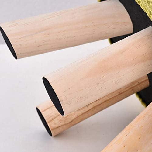 CHHD Chaise de Bureau, carré Rouge Vague Point Bois Massif Tabouret à Quatre Pattes canapé Tabouret Tabouret Table Basse Tabouret (28 * 28 * 20 cm)