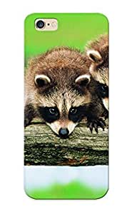For Iphone Case, High Quality Animals Raccoons For Iphone 6 Plus Cover Cases / Nice Case For Lovers