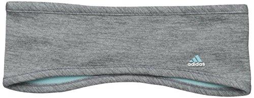 adidas Women's Powder Headband, One Size, Grey/Clear Onix/Frozen Blue -