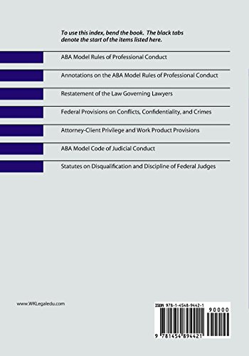 Regulation of Lawyers: Statutes and Standards, Concise Edition, 2018 Supplement (Supplements)