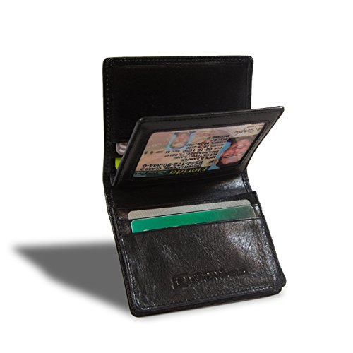 RFID Blocking Credit Card Holder - Mens Wallet with 100% RFID Protection