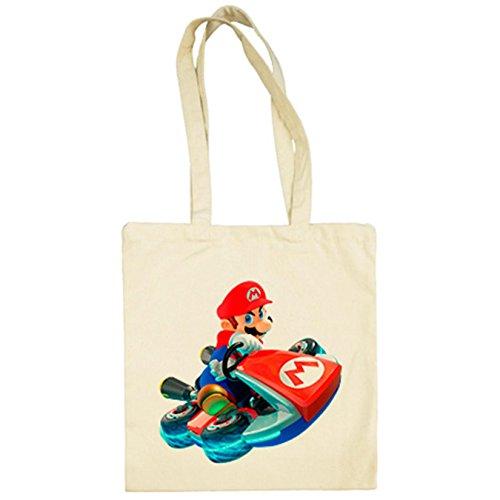 Super Mario De Bolsa Tela Beige Kart 4vgxpYn