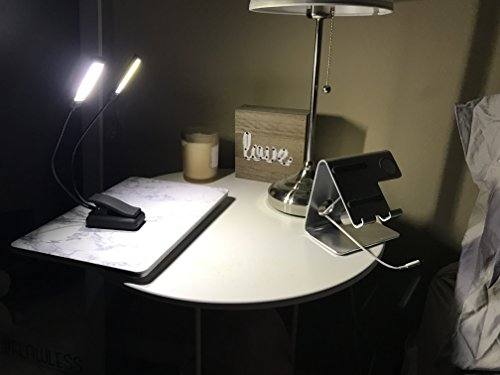 LUMIENS Brooklyn - Music Stand Light Clip On LED Lamp - No Flicker, Fully Adjustable, 6 Levels of Brightness - Also for Book Reading, Orchestra, Mixing, DJ's by Lumiens (Image #6)