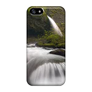 Beautiful Fast Moving Spring In Oregon Case Compatible With Iphone 5/5s/ Hot Protection Case