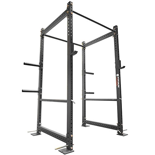 Titan Fitness 36' Deep T-3 Series Short Power Rack Squat Deadlift Cage Pull Up