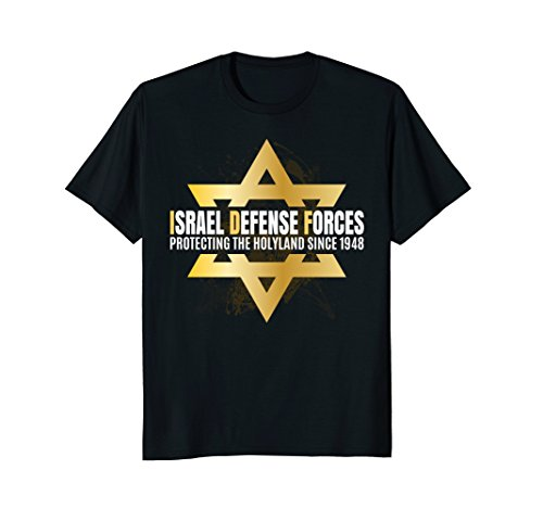 Israel Defense Force IDF Jewish Star Gifts Shirt