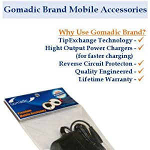 Essential Gomadic AC /DC Charge Accessory Bundle for the GoPro Hero3. Kit includes the Gomadic Home and Car Chargers at a Money Saving Price. Based on TipExchange Technology