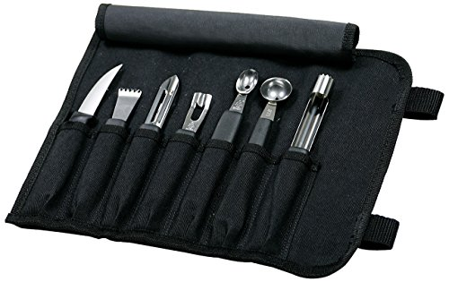 Mercer Culinary 8-Piece Garnishing Kit (Set Garnishing)