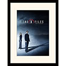 X Files Framed Collector Poster - I Want To Believe (16 x 12 inches)