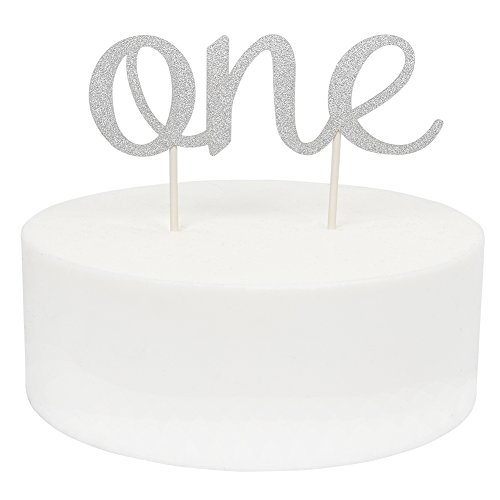 INNORU(TM) 1st One Cake Topper First Birthday Bunting - Cake Toppers For Birthdays