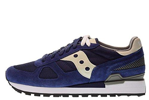 Original Uomo grigio Shadow Sneaker Saucony Blu qzwOc