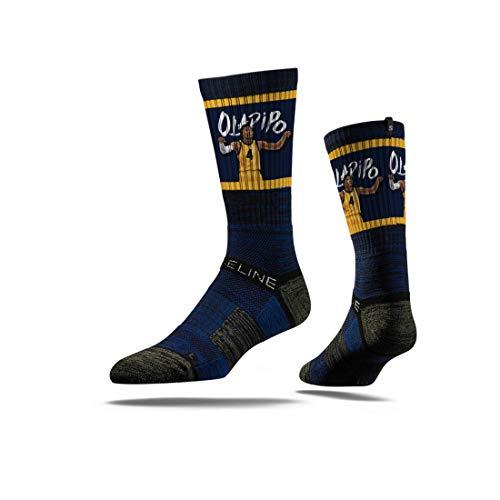 Strideline NBA Indiana Pacers Victor Oladipo Action Premium Athletic Crew Socks, One Size