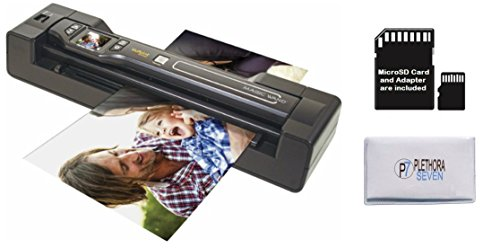Vupoint ST470 Magic Wand Portable Scanner w/Auto-Feed Docking Station (Black) (Renewed)