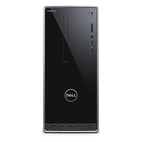 Price comparison product image Dell Inspiron i3650 Desktop (Intel Core i7, 16 GB RAM, 2 TB HDD) AMD Radeon R9360, Wireless Keyboard & Mouse, Windows 10