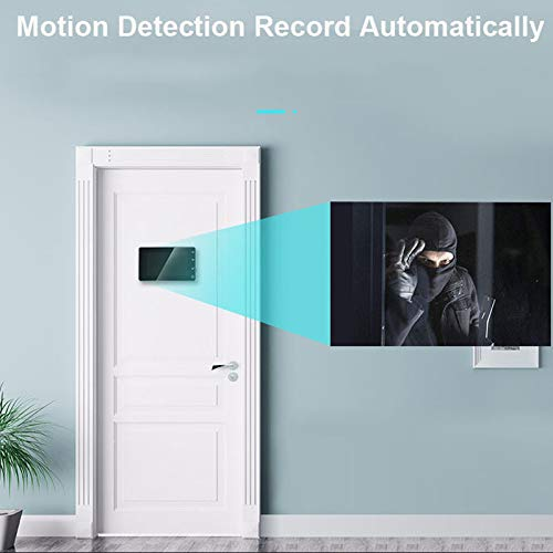 Nrpfell 1080P Digital Peephole Viewer Home Security Doorbell Support Max 32Gb 170 Viewing Angle Motion Detection by Nrpfell (Image #3)