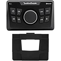 Rockford Fosgate Digital Media Bluetooth Receiver 4 Polaris RZR+Dash Install Kit