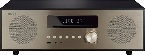 Insignia 80W All-In-One Stereo Shelf Audio System with Bluetooth Connectivity – Model: NS-HAIOR18
