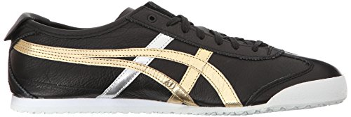 Onitsuka Tiger Mexiko 66 Fashion Sneaker Schwarzes Gold