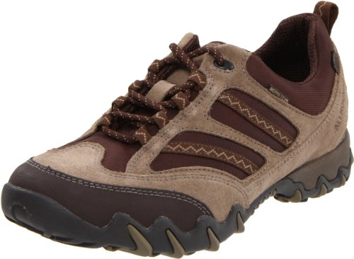 ALLROUNDER by MEPHISTO Women's Naroma Hiking Shoe,Taupe Suede/Espresso Niro Mesh,10 M - Shoe By Womens Niro Mephisto Allrounder