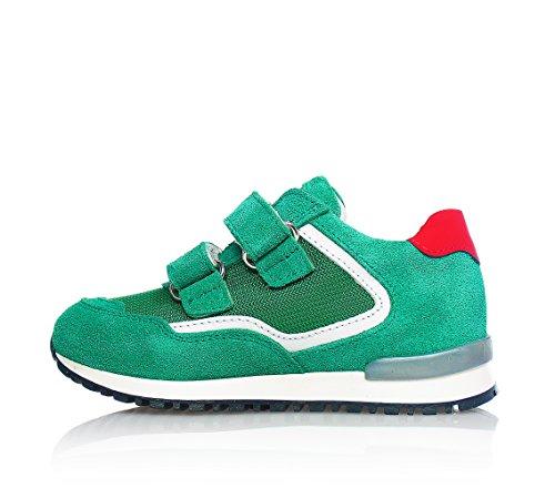 4US - Chaussure de sport verte, garçons,enfant