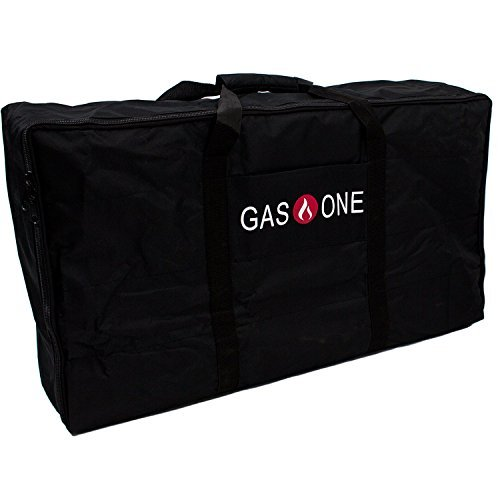 GasOne New Propane Stove Burner Universal Carry Bag for Double Burner Cooker Grills Heavy Duty FITS Gas One Double Burner, Camp Chef & All Other Similar Sized Burners (Stove Carry Bag)