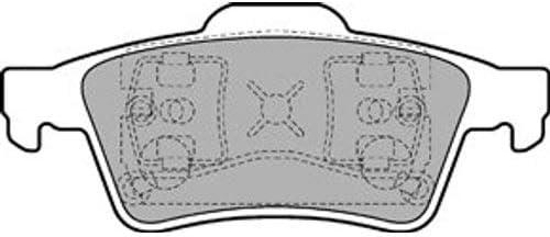 Bremsbel/äge Set Hinten Delphi Bremsscheiben /Ø278Mm