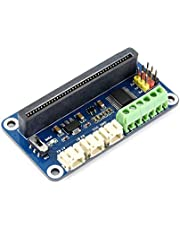 Waveshare Driver Breakout for Micro:bit Drive Two Channel DC Motors and Three Channel Servos Directly Pluggable Onboard Multi Connector Options