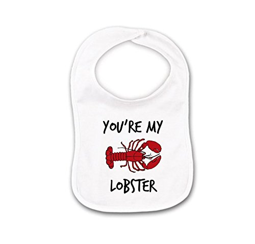 You're My Lobster Funny Best Friends Baby Bib