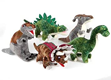 Animal Planet dinosaurio 5 Peluches (Modelo Aleatorio)