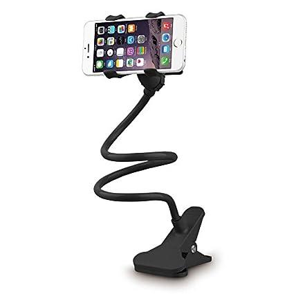 iMinker 360 giratorio Flexible brazo largo titular del teléfono celular, Soporte de soporte móvil perezoso con ...