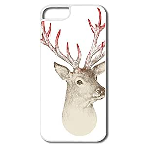 PTCY IPhone 5/5s Customize Funny Deer