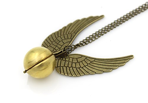 Harry Potter Golden Snitch Locket Necklace