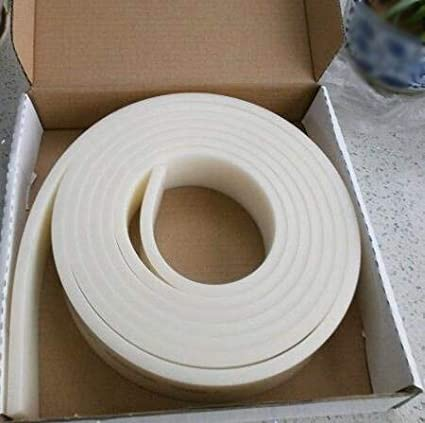 White, 70A 72 6FT 70 Durometer Silk Screen Printing Squeegee Blade One Roll