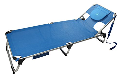 Ostrich SL-1015B Spring Lake Chaise, Blue -