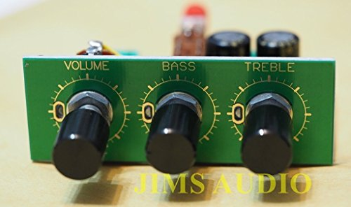 Passive stereo tone control w/ loudness button assembled low distortion ()
