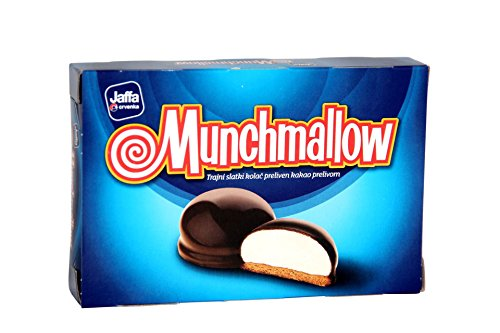 Munchmallow Covered with Chocolate 105g by Jaffa (Image #1)