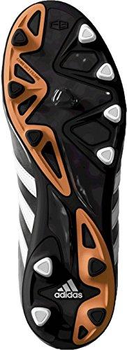 11 Nova TRX FG Enfants - Chaussures de Foot Noir/Blanc/Orange Flash - taille 5