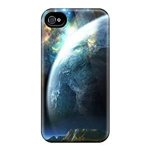 New Arrival Premium 4/4s Case Cover For Iphone (planet Closeup)