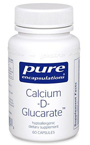 Pure Encapsulations Calcium D Glucarate Hypoallergenic Supplement