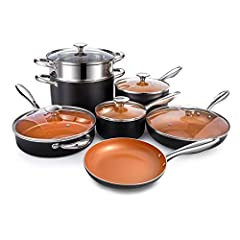 Copper Cookware Set 12
