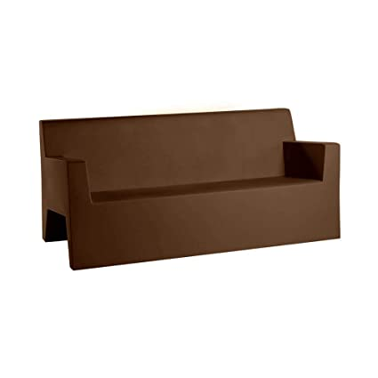 Amazon.com : Vondom Jut Sofa for Outdoor Bronze : Garden ...
