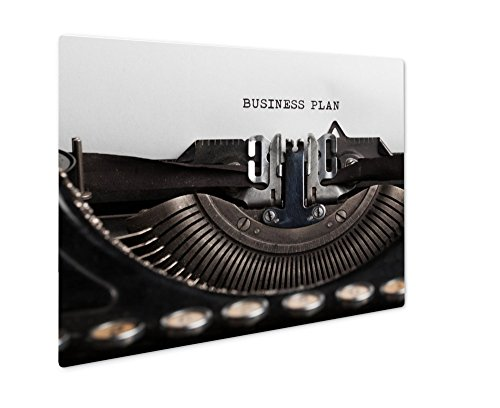 (Ashley Giclee Business Plan Written By A Typewriter On A Paper Sheet Space Fo, Wall Art Photo Print On Metal Panel, Color, 16x20, Floating Frame, AG6119635)