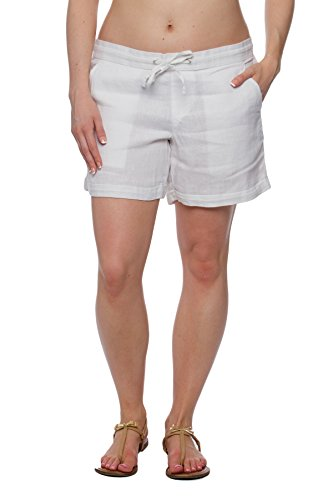 Missy Womens Linen Shorts pockets product image