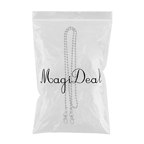 Handbag MagiDeal Bag Making for Nickle Gold Accessories Chain Chains White Purse Handmade Metal 120cm described as Beads YPrIYq