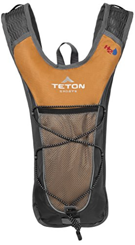 TETON Sports Trailrunner 2 Liter Hydration Backpack; Free 2-Liter Hydration Bladder; For Backpacking, Hiking, Running, Cycling, and Climbing; Orange