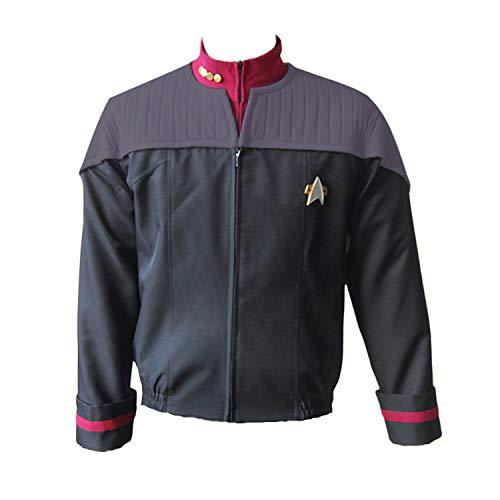 Ya-cos Men's Suit Jack+Badge+Shirt Nemesis Uniform Costume 3 Colors Red ()
